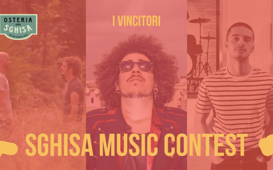 Sghisa Music Contest: i vincitori