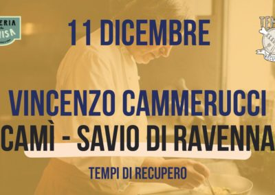 Tempi di Recupero – Vincenzo Cammerucci