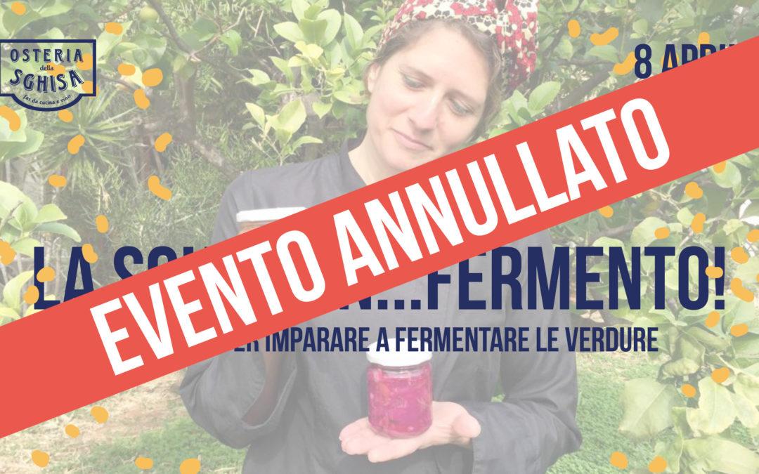 """""""La Sghisa in…fermento"""": workshop sulla fermentazione delle verdure"""